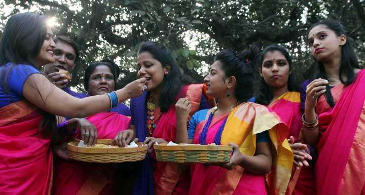 আনন্দ-উৎসবে বড়দিন উদযাপন (ছবি : রূপম ভট্টাচার্য)