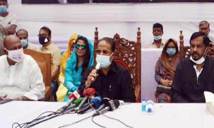   একটি শিশুর ঘোষণায় রাজনৈতিক দল হতে পারে না: জি এম কাদের