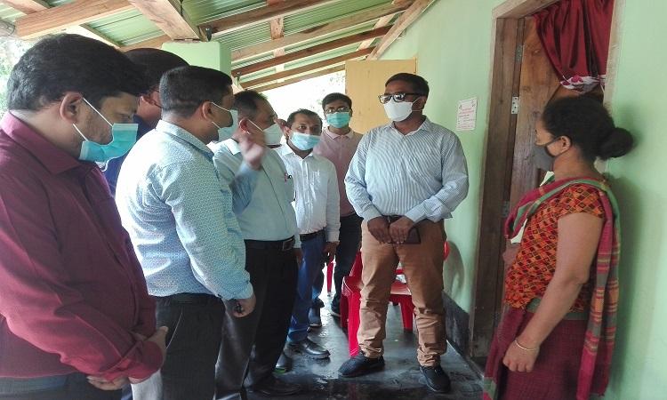 আশ্রয়ন প্রকল্প-২ পরির্দশন করেছেন  রাঙামাটি জেলা প্রশাসক