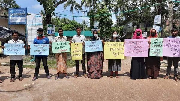 শ্যামনগরে বিশ্ব জলবায়ু অবরোধ কর্মসূচী  উদ্যাপন