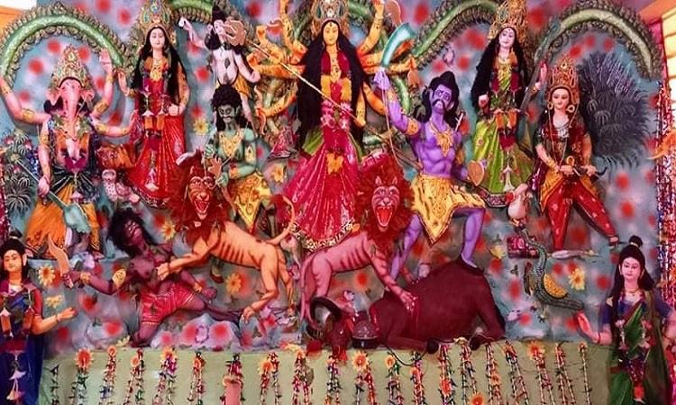 শ্যামনগরে বার্লিনে পালিত হচ্ছে শারদীয় দূর্গোৎসব